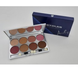 EYESHADOW COMPACT MAKE-UP PALETTE 8 COLORS
